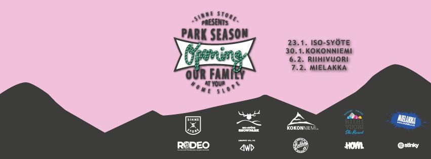 Iso-Syöte Park Season Opening by Sinne 23.1.2016