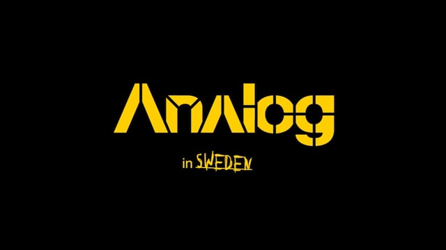Analog in Sweden