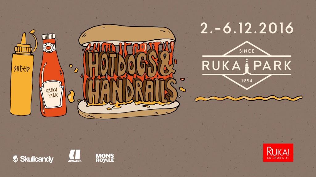 Hotdogs and Handrails railjam Rukalla 2.12.2016 - 6.12.2016