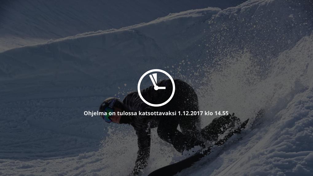Paralumilautacrossin maailmancup Yle Areenalla. Lähetykset perjantaina 1.12. ja lauantaina 2.12. klo 14.55-17.30