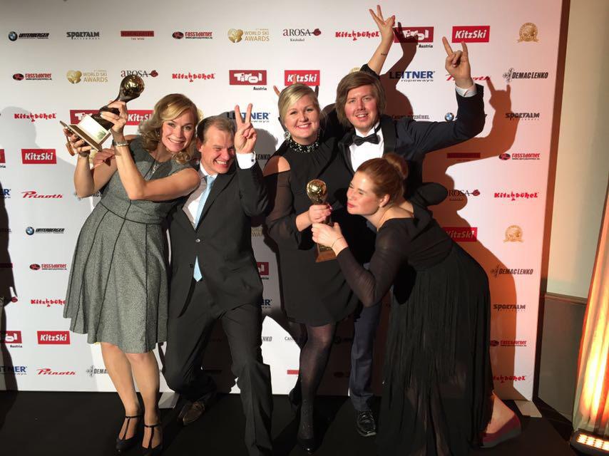 World Ski Awards 2017 toi tunnustusta Iso-Syötteelle