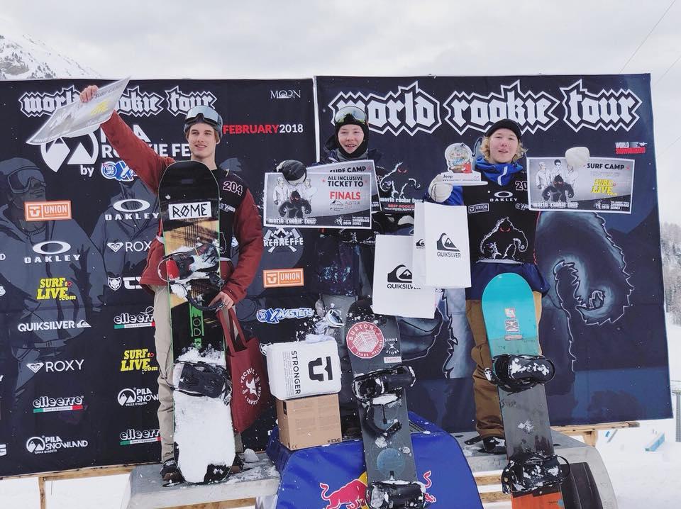 World Rookie Tourilla Suomelle neloisvoitto ja yksi hopea