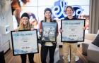 Vuoden juniorilaskijat palkittiin Elisa Studiolla.