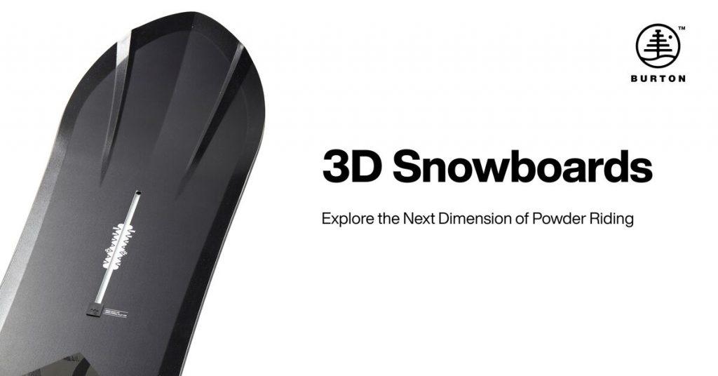 Burton 3D-laudat
