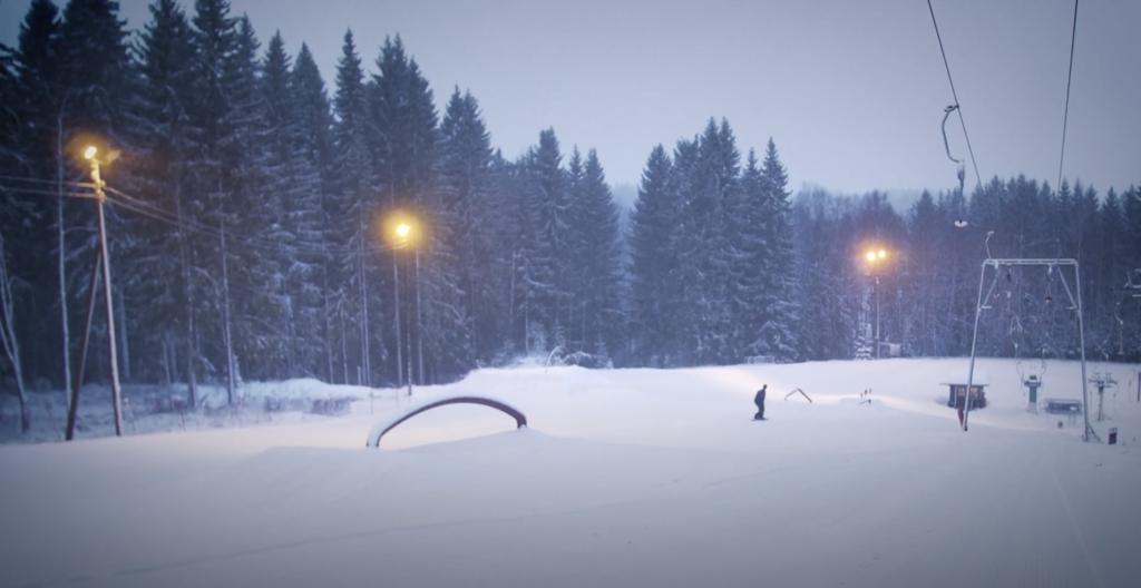 Jesse & Eero: Sveitsin hiihtokeskus park laps