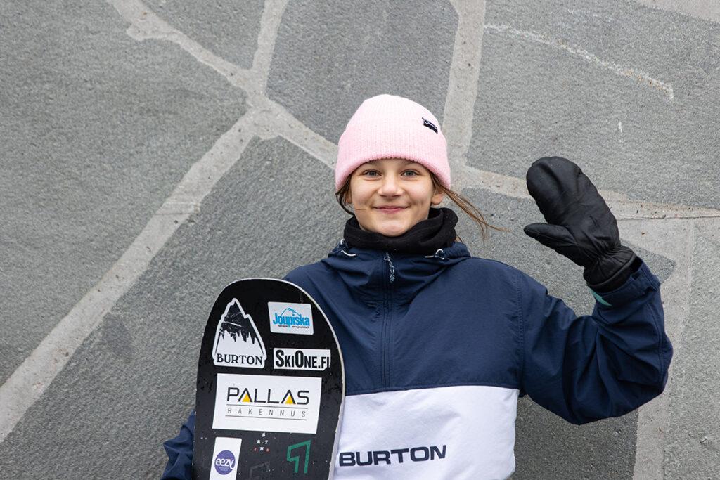 Särkipaju nuorten MM-slopestylessä pronssia