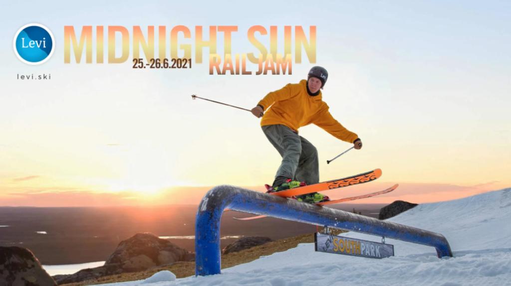 Levi Midnight Sun Rail Jam