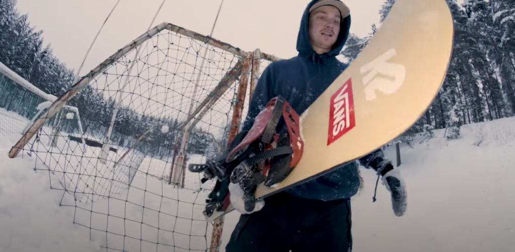 K2 Snowboarding Presents   Antti Jussila for World Peace